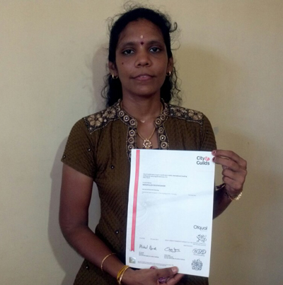 A1 Diploma Holder from KU-Jaffna